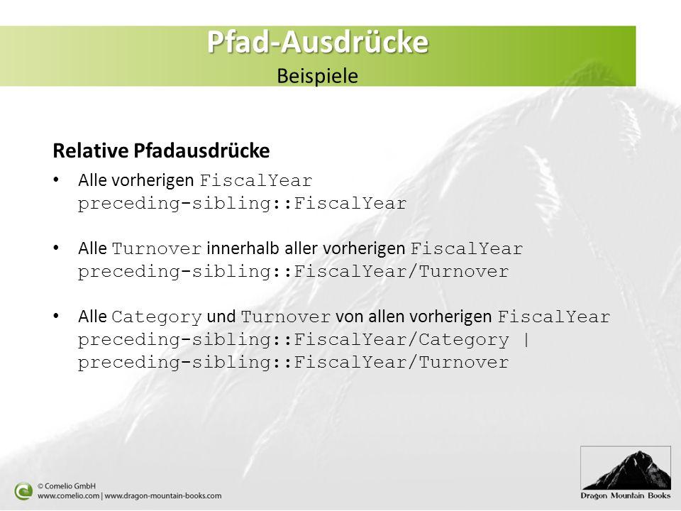 Pfad-Ausdrücke Beispiele