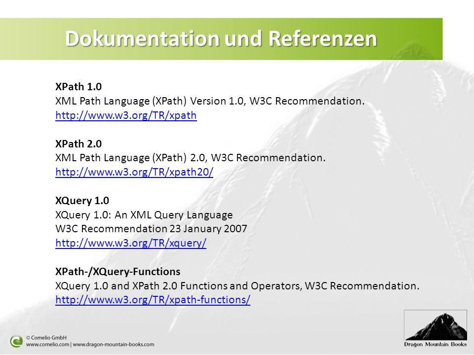 Dokumentation und Referenzen