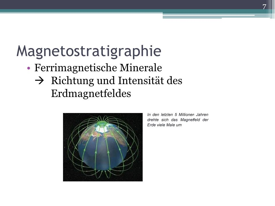 Magnetostratigraphie