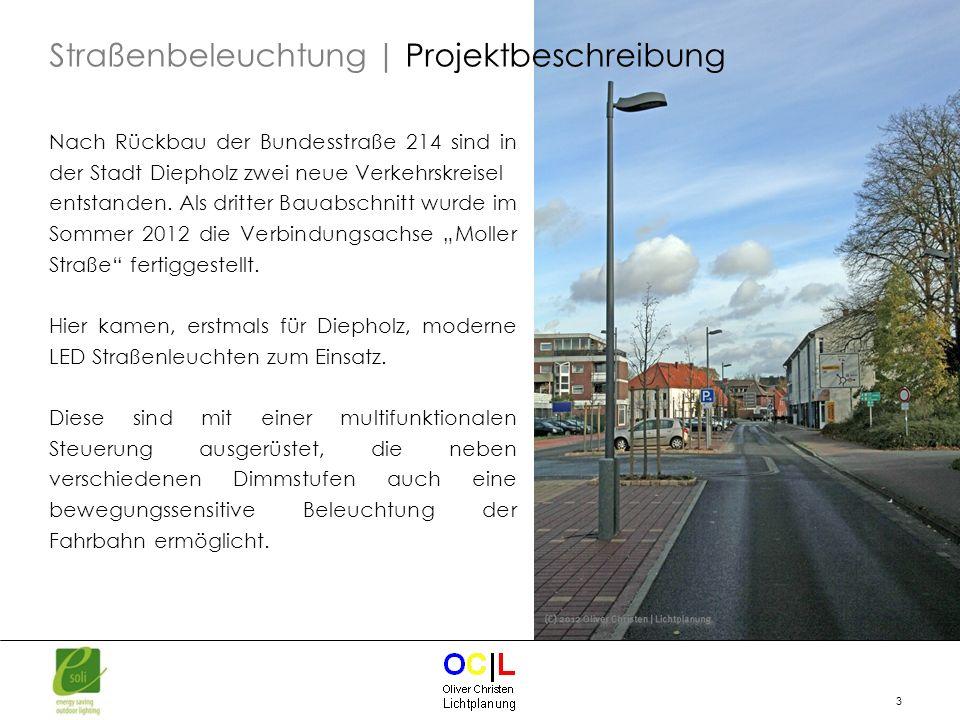 Straßenbeleuchtung | Projektbeschreibung