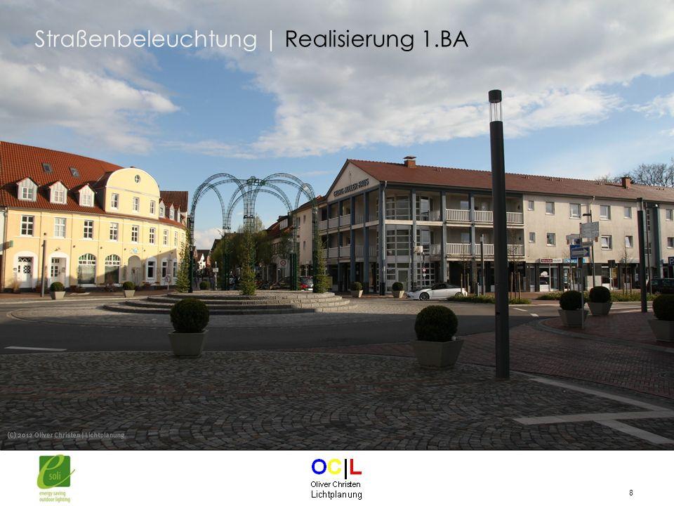Straßenbeleuchtung | Realisierung 1.BA