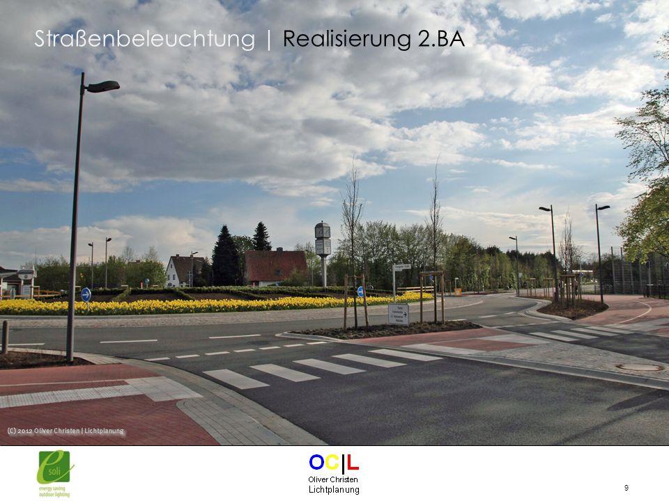 Straßenbeleuchtung | Realisierung 2.BA