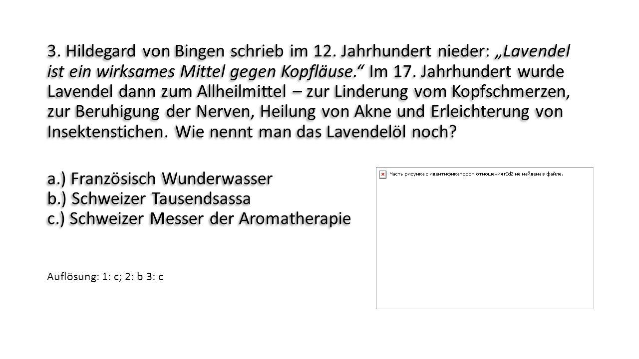 3. Hildegard von Bingen schrieb im 12