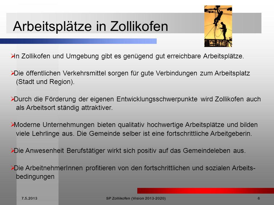 SP Zollikofen (Vision 2013-2020)