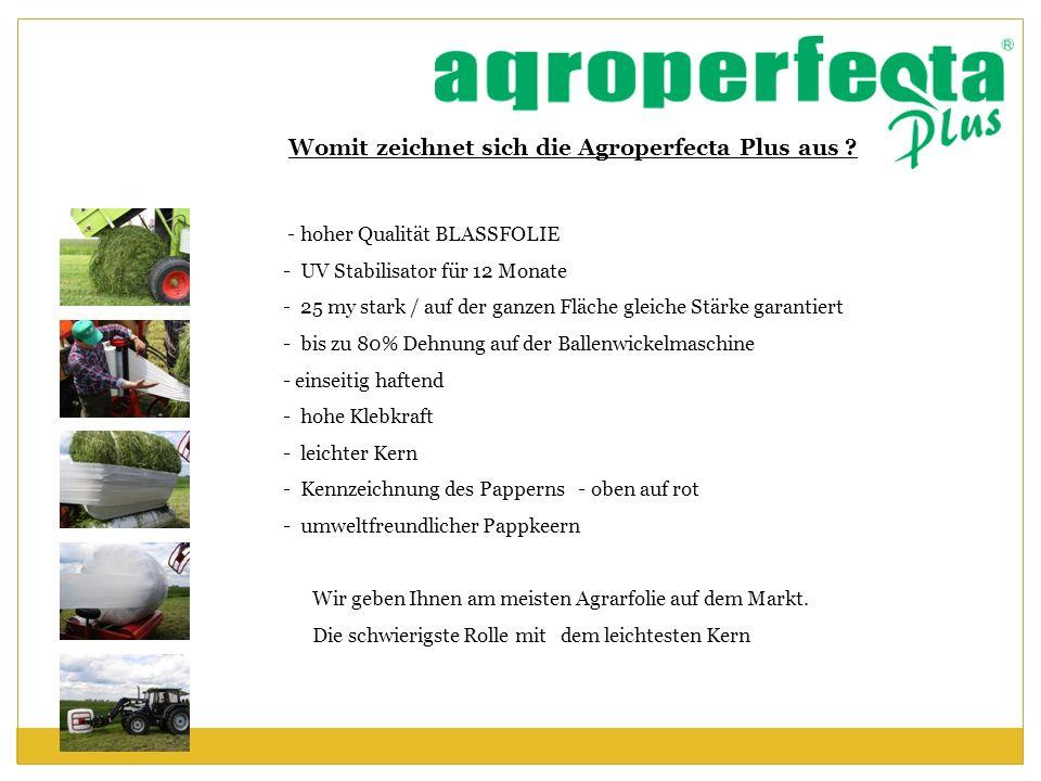 Womit zeichnet sich die Agroperfecta Plus aus