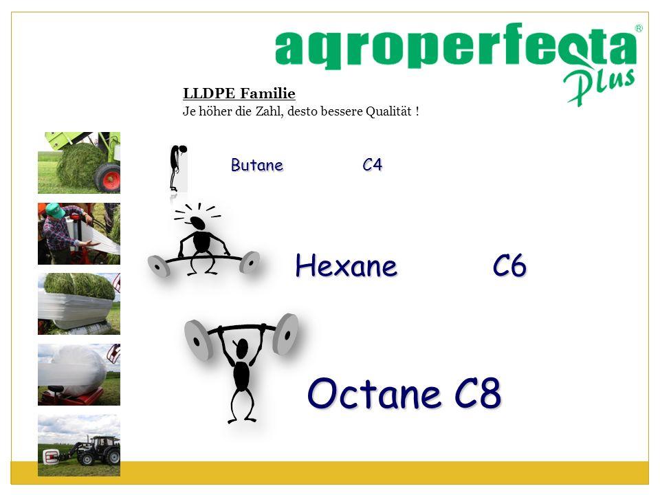 Octane C8 Hexane C6 Butane C4 LLDPE Familie