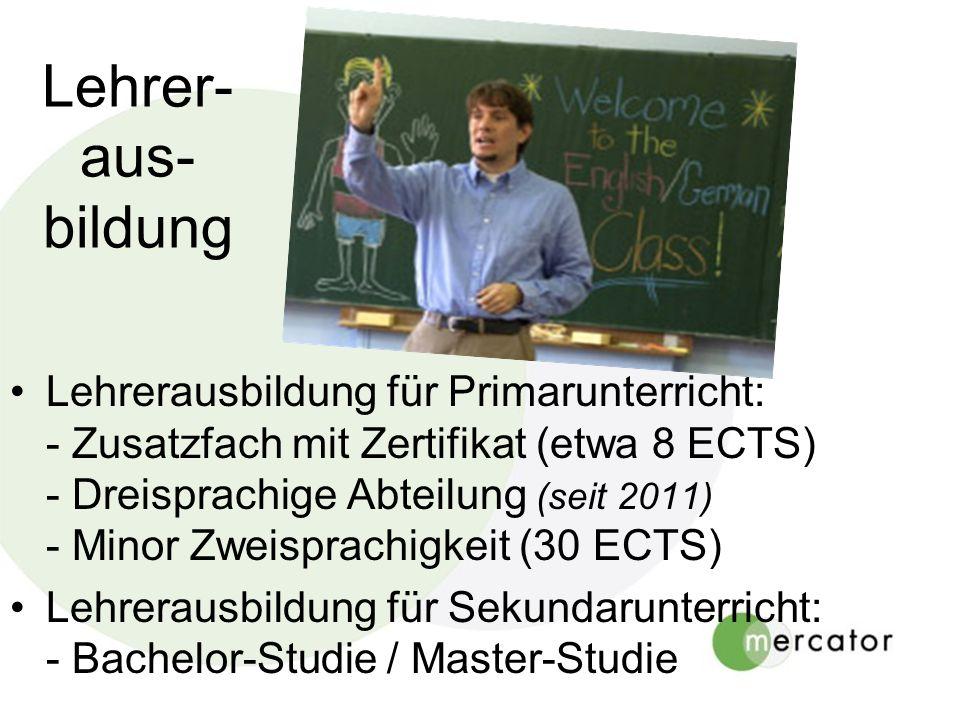 Lehrer- aus- bildung