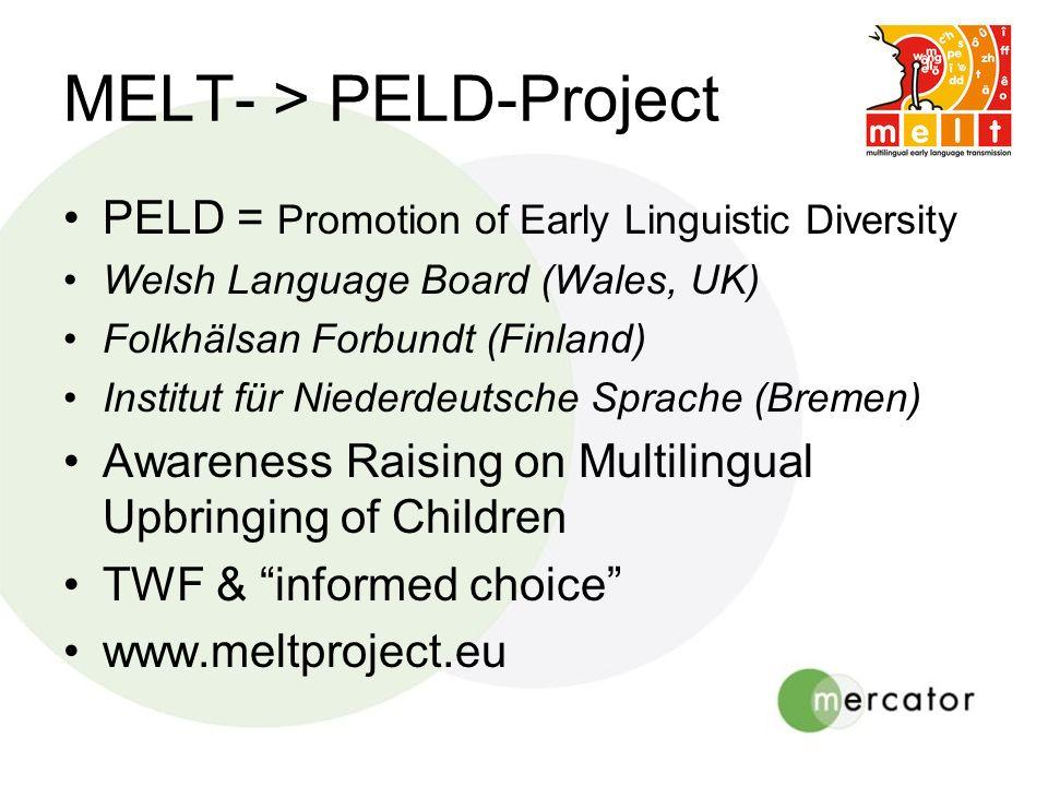 MELT- > PELD-Project