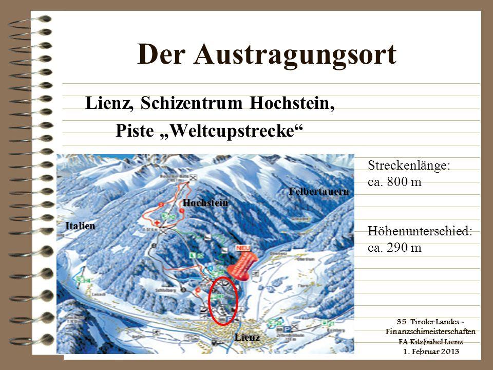 """Lienz, Schizentrum Hochstein, Piste """"Weltcupstrecke"""