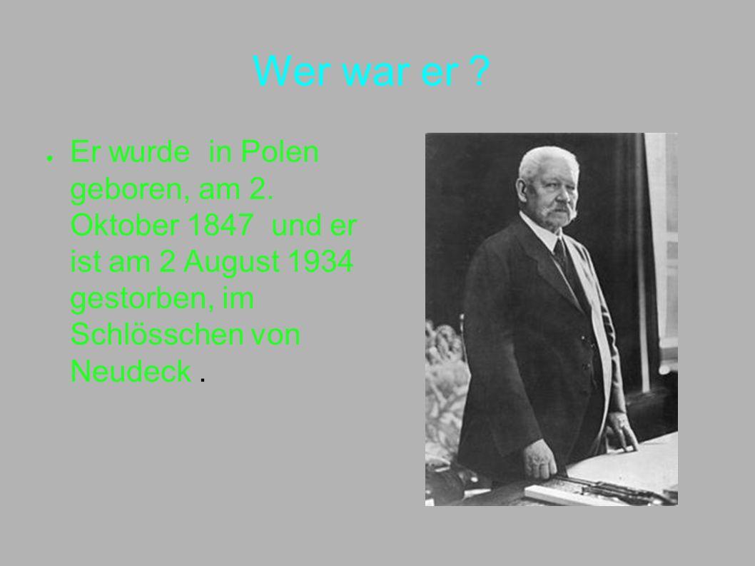 Wer war er . Er wurde in Polen geboren, am 2.