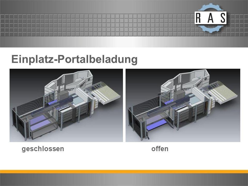 Einplatz-Portalbeladung