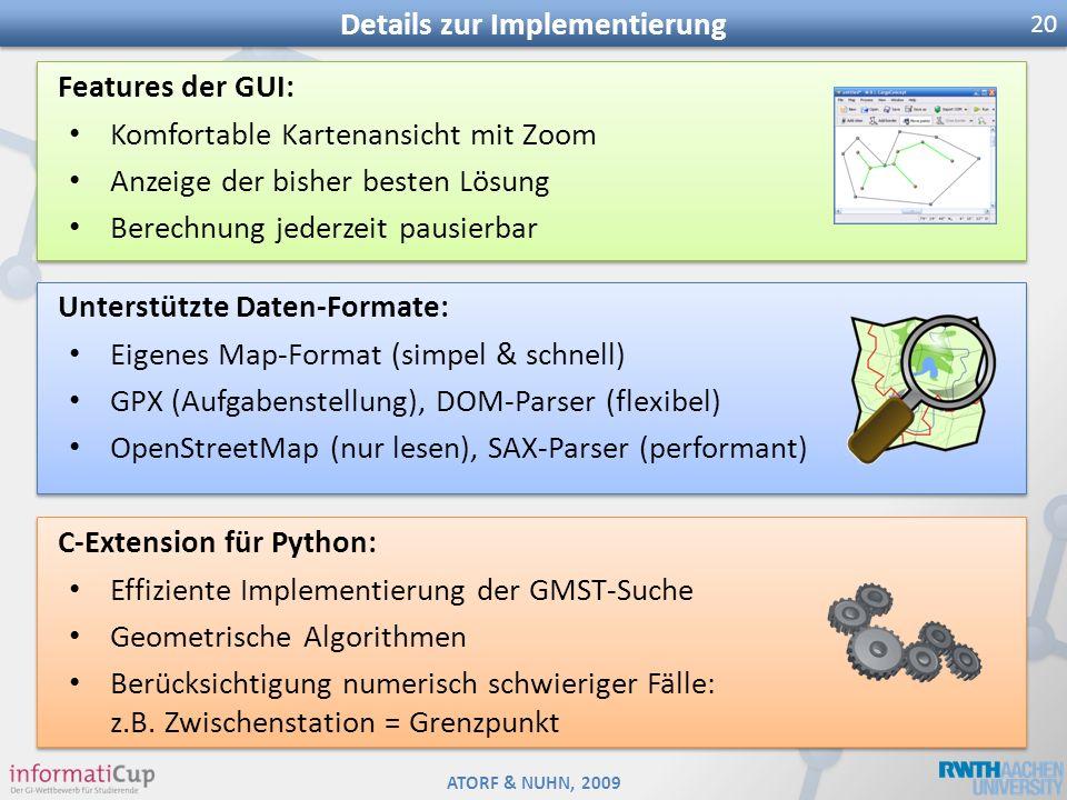 Details zur Implementierung
