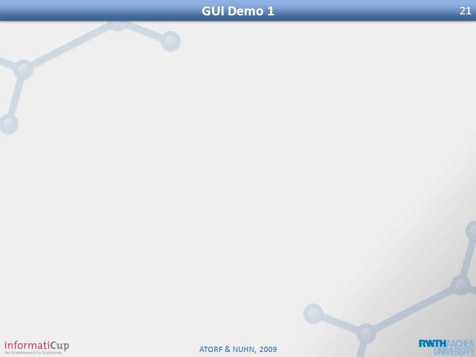 GUI Demo 1