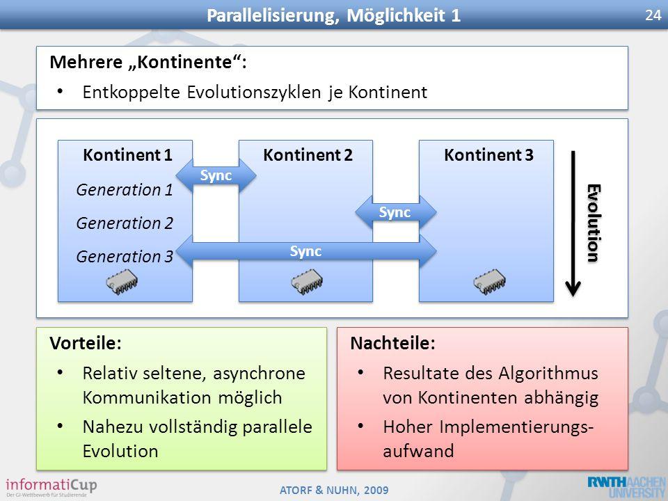 Parallelisierung, Möglichkeit 1
