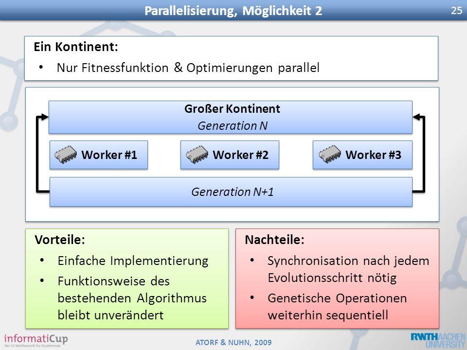 Parallelisierung, Möglichkeit 2