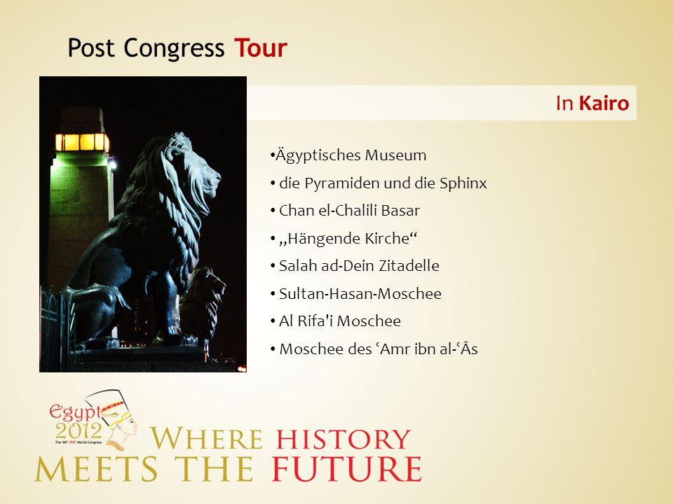 Post Congress Tour In Kairo Ägyptisches Museum