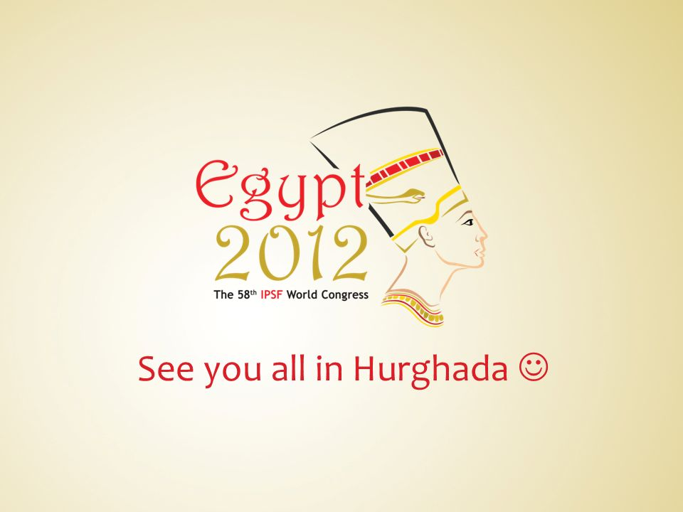 See you all in Hurghada 