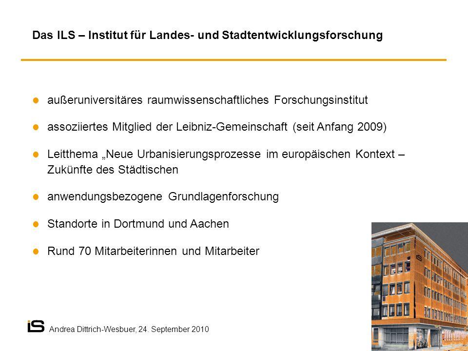 Das ILS – Institut für Landes- und Stadtentwicklungsforschung