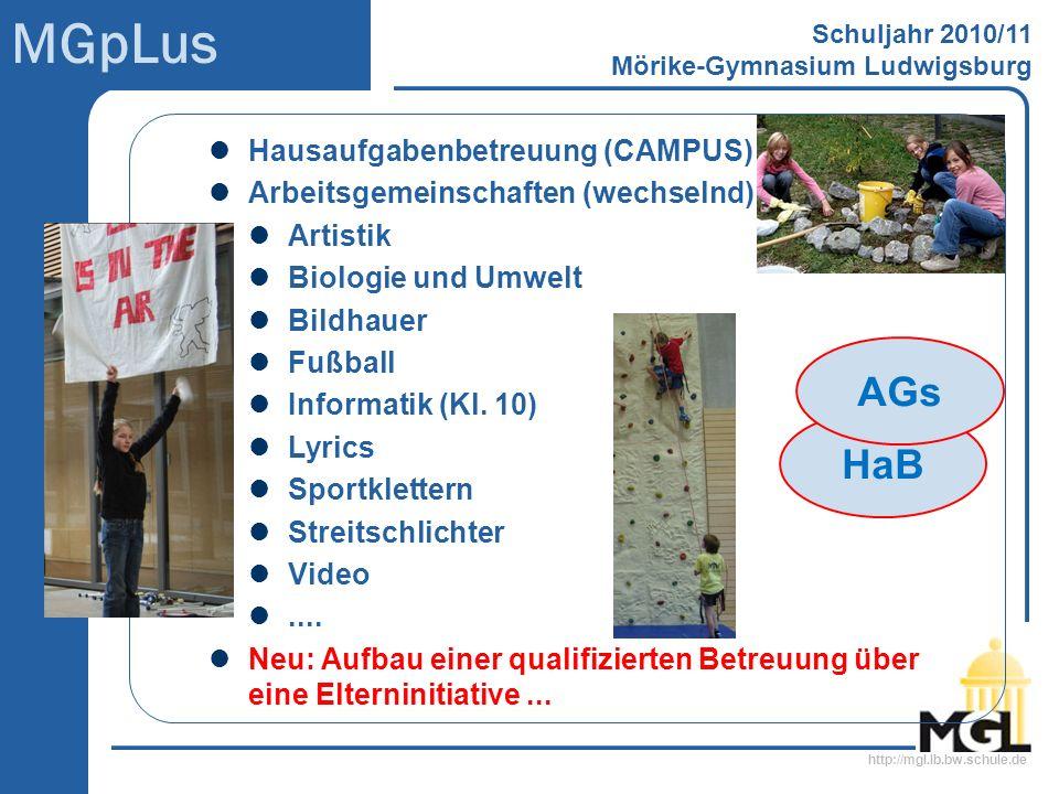 AGs HaB Hausaufgabenbetreuung (CAMPUS)