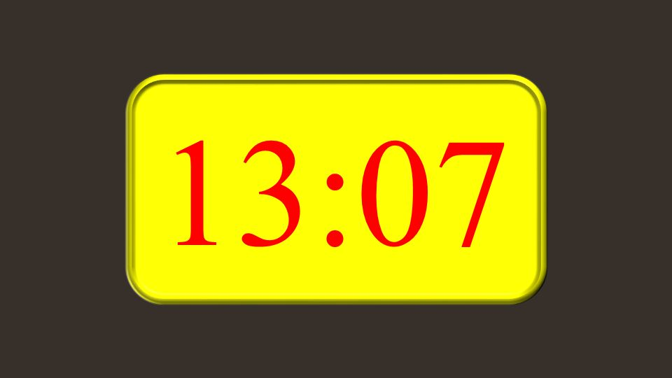 13:07