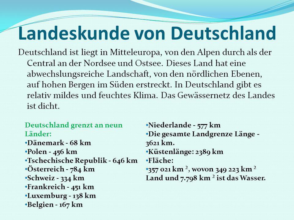 Landeskunde von Deutschland