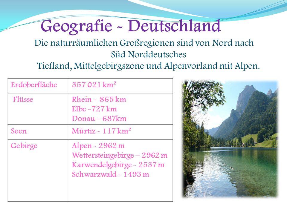 Geografie - Deutschland