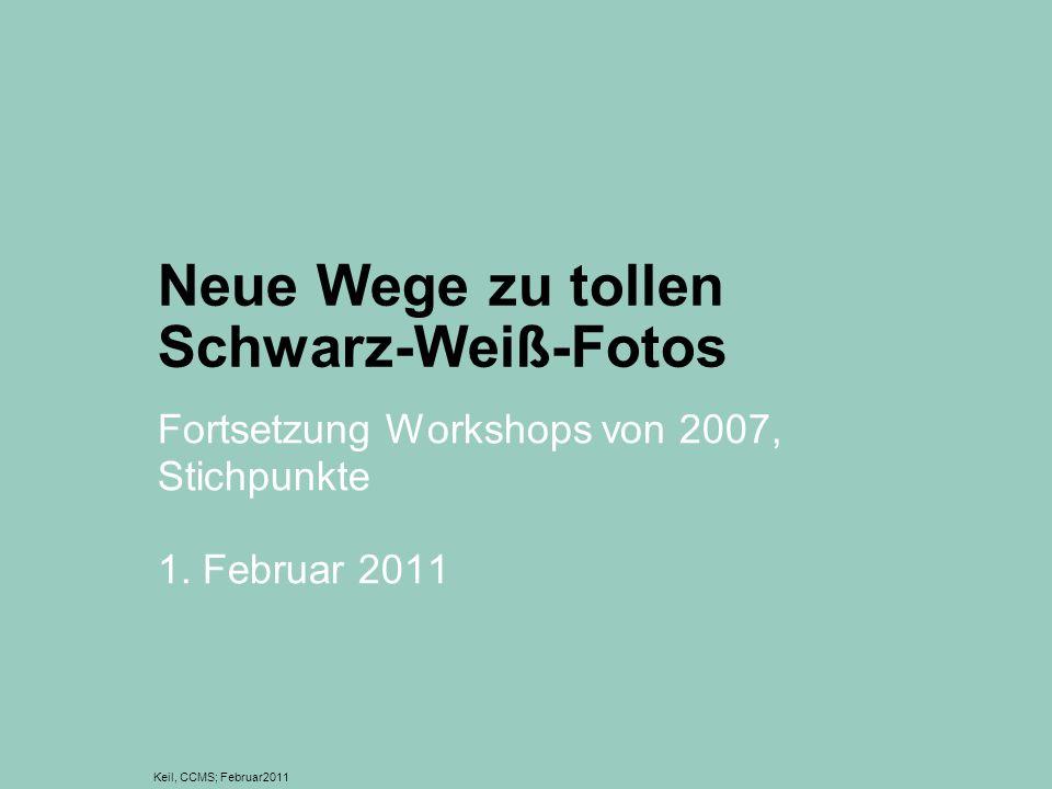 Neue Wege zu tollen Schwarz-Weiß-Fotos