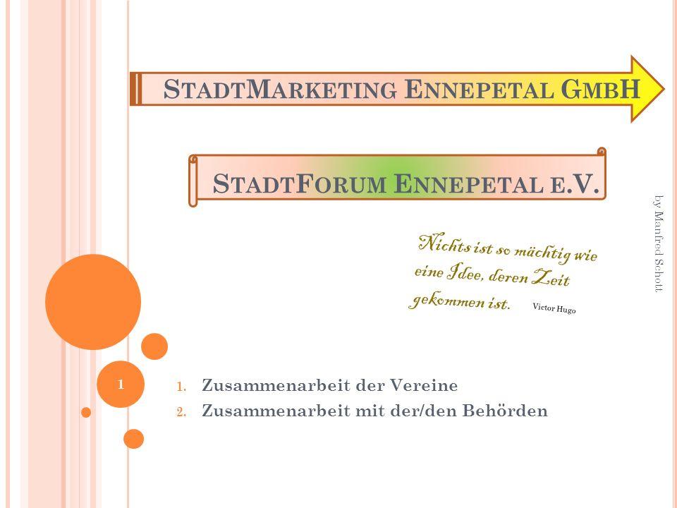 StadtMarketing Ennepetal GmbH StadtForum Ennepetal e.V.