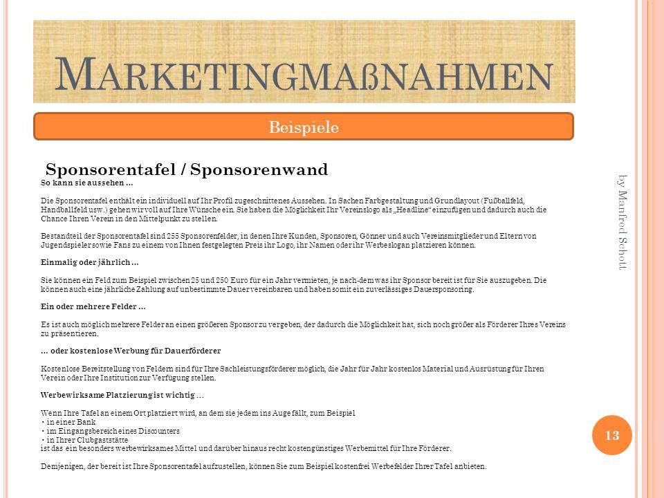 Marketingmaßnahmen Beispiele
