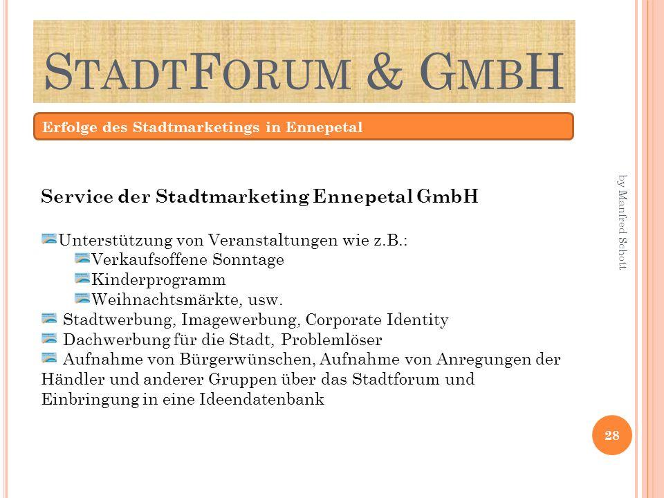 StadtForum & GmbH Service der Stadtmarketing Ennepetal GmbH