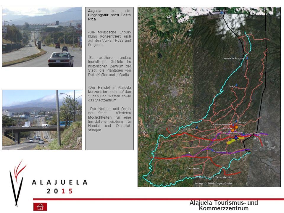 Alajuela Tourismus- und Kommerzzentrum