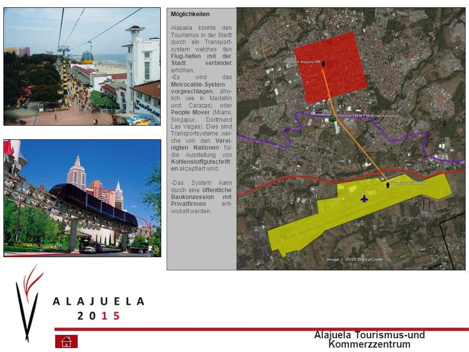 Alajuela Tourismus-und Kommerzzentrum