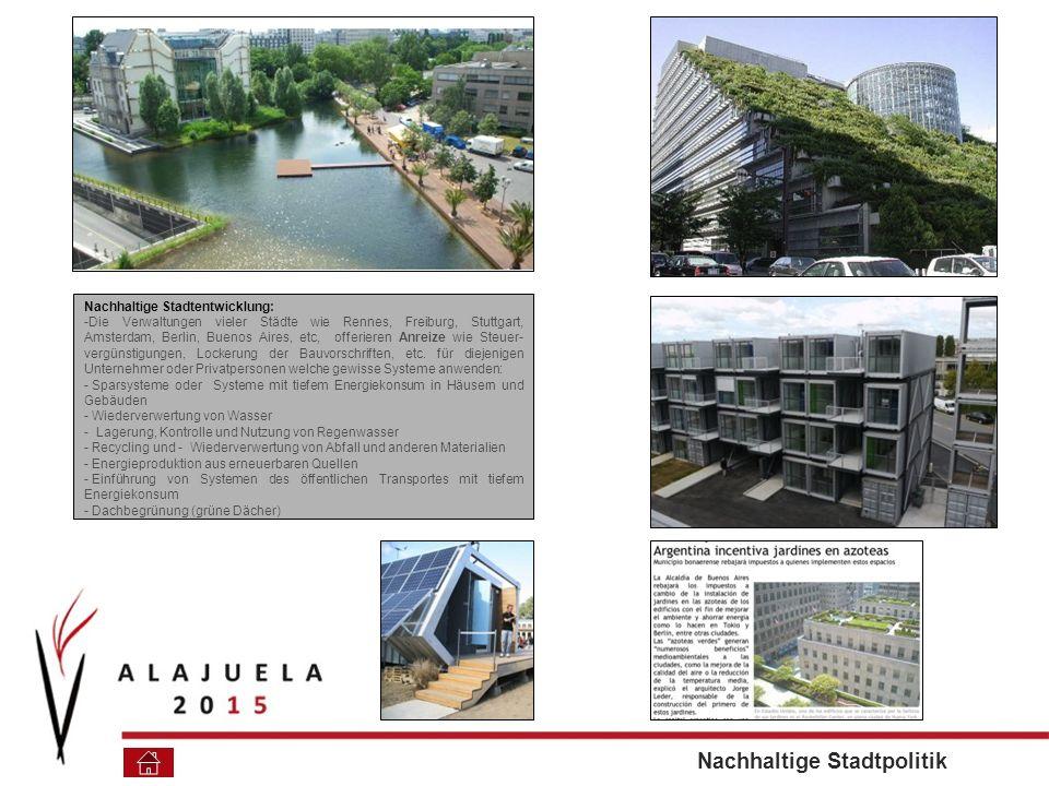 Nachhaltige Stadtpolitik
