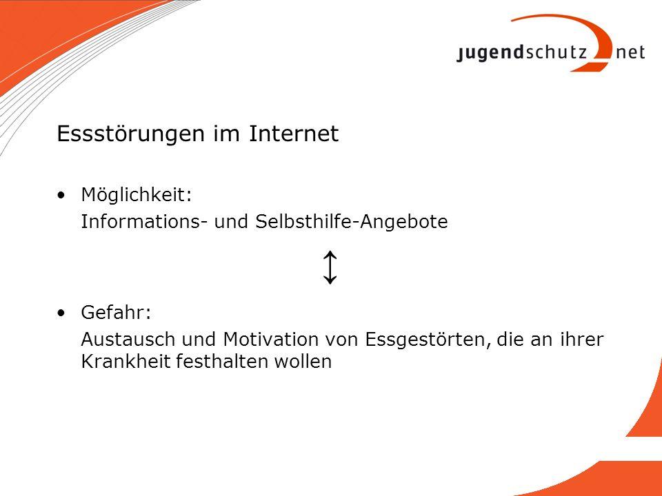 Essstörungen im Internet