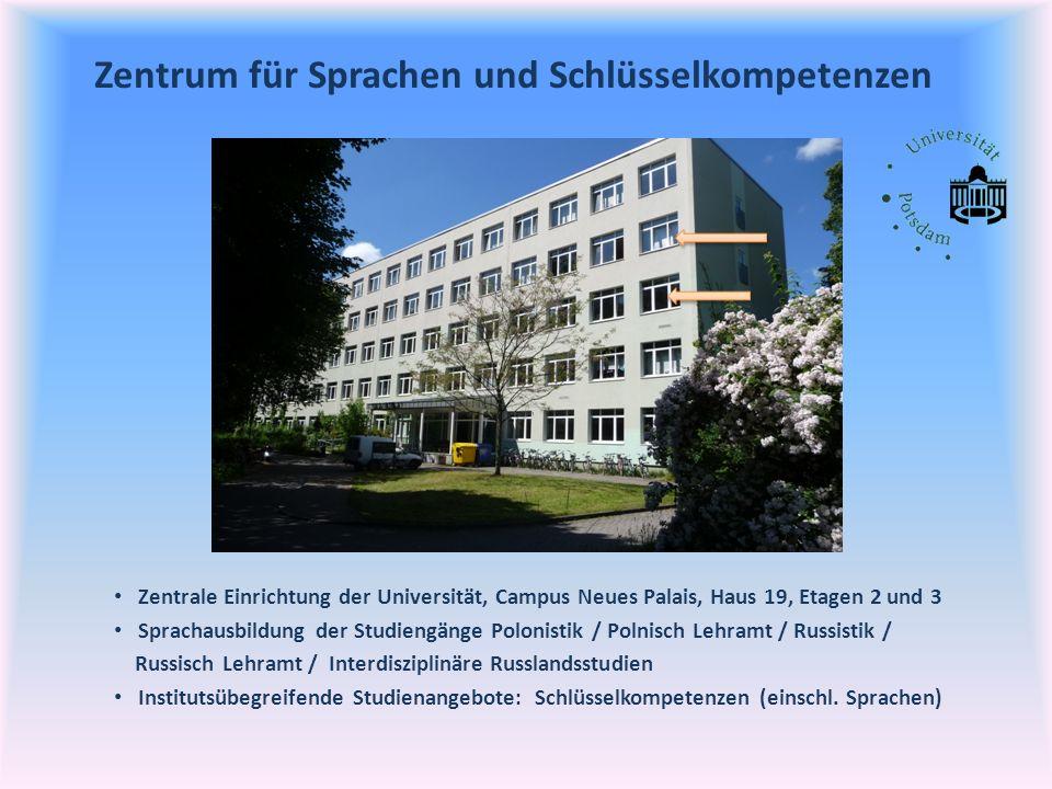 Zentrum für Sprachen und Schlüsselkompetenzen