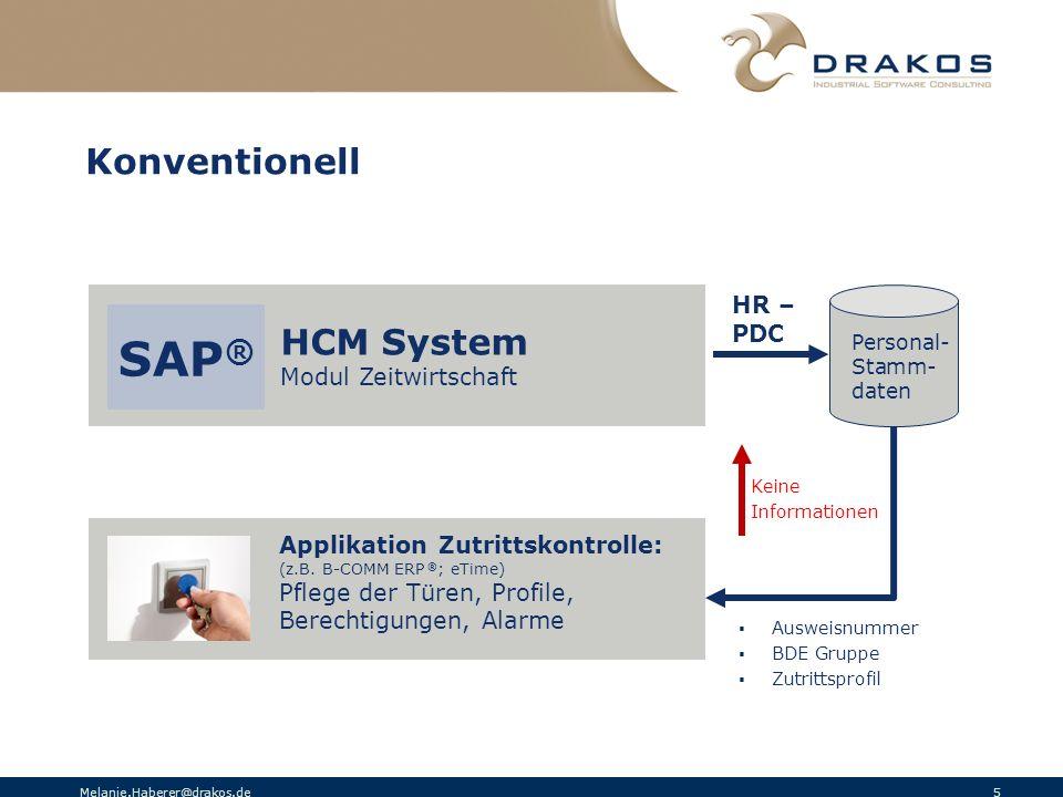 SAP® Konventionell HCM System HR – PDC Modul Zeitwirtschaft