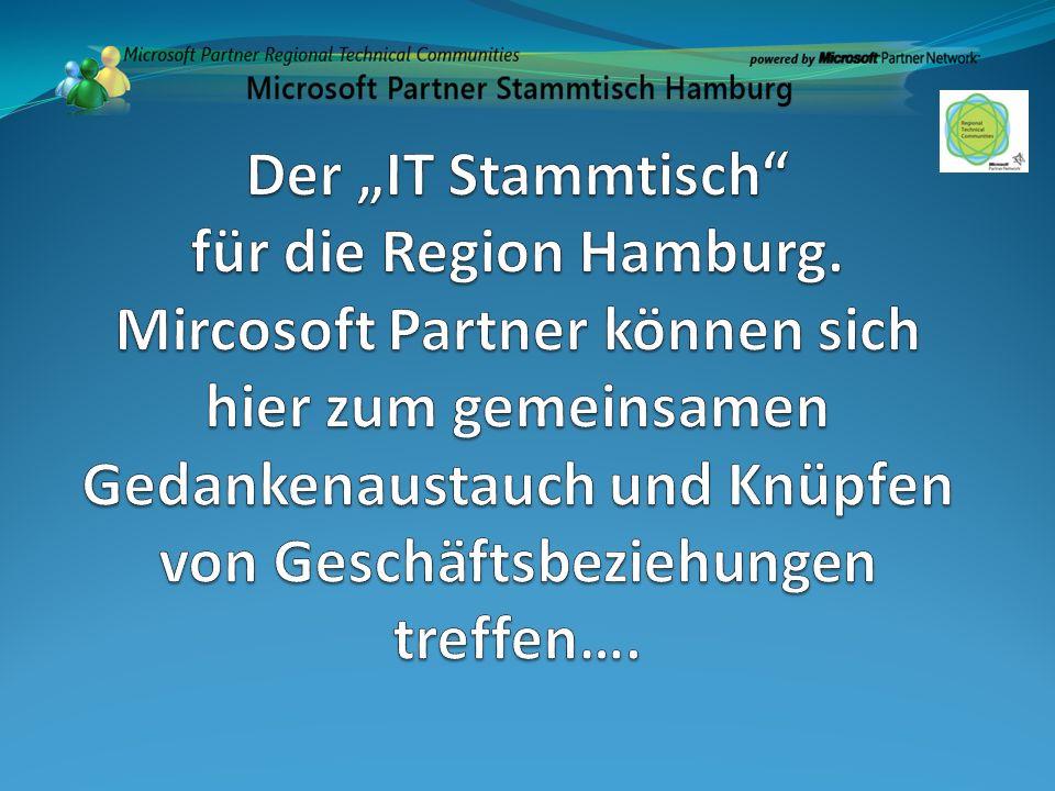 """Der """"IT Stammtisch für die Region Hamburg"""