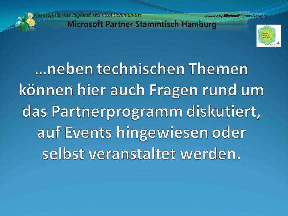 …neben technischen Themen können hier auch Fragen rund um das Partnerprogramm diskutiert, auf Events hingewiesen oder selbst veranstaltet werden.