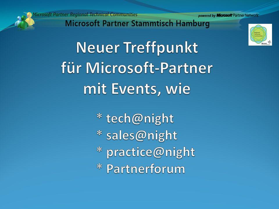 Neuer Treffpunkt für Microsoft-Partner mit Events, wie