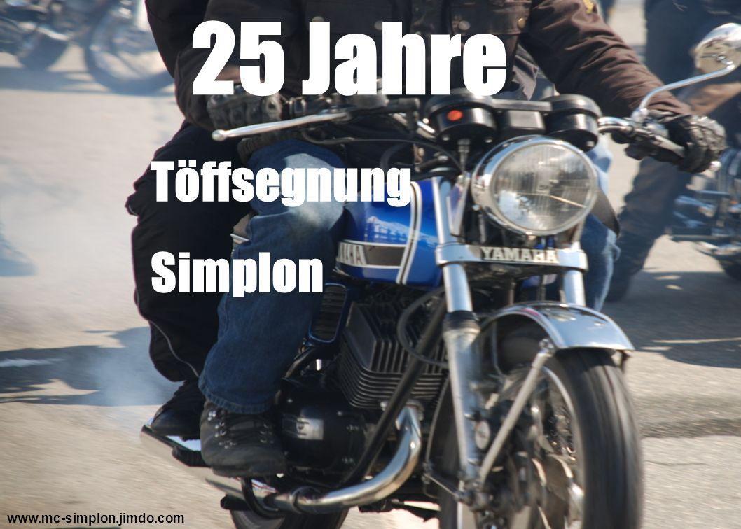 25 Jahre Töffsegnung Simplon www.mc-simplon.jimdo.com