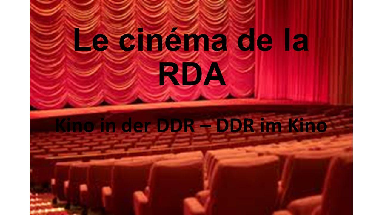 Kino in der DDR – DDR im Kino