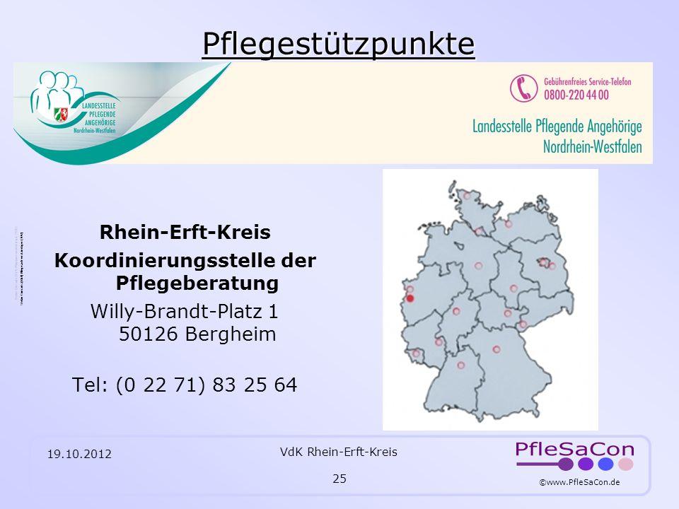 Pflegestützpunkte Rhein-Erft-Kreis