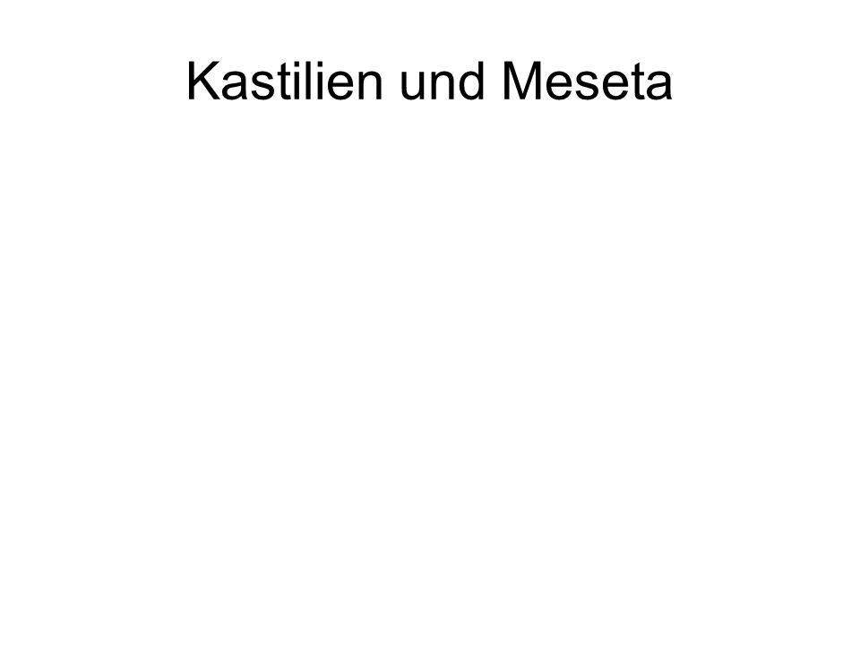 Kastilien und Meseta