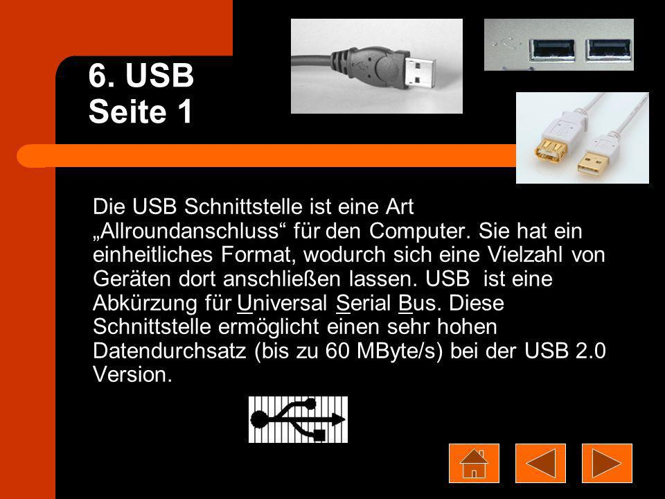6. USB Seite 1