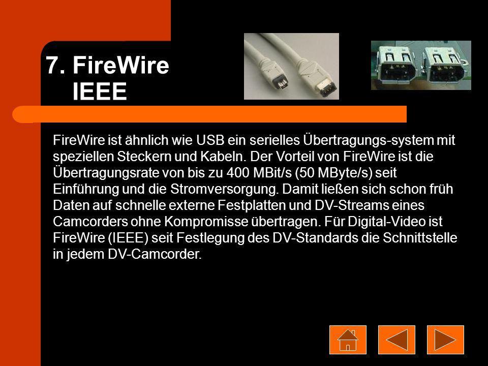 7. FireWire IEEE