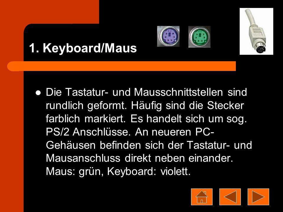 1. Keyboard/Maus