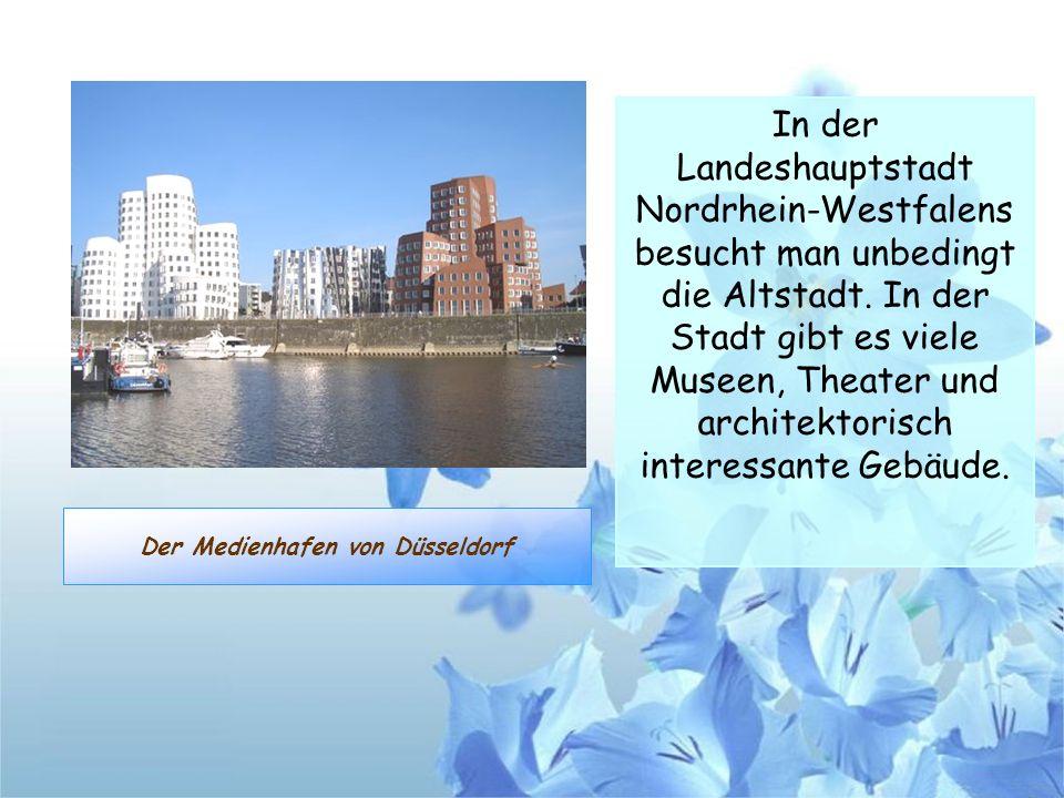 Der Medienhafen von Düsseldorf