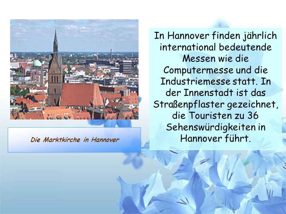 Die Marktkirche in Hannover