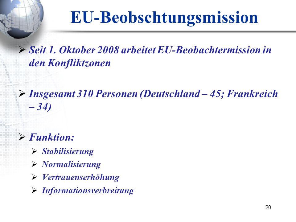 EU-Beobschtungsmission