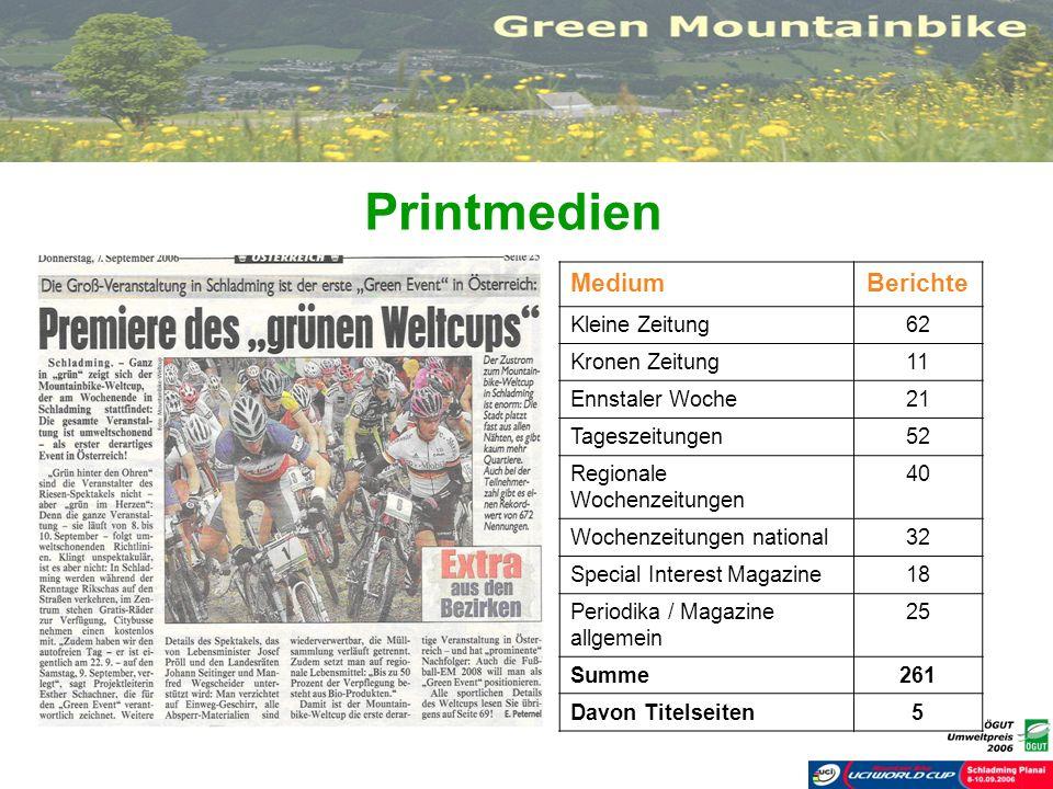 Printmedien Medium Berichte Kleine Zeitung 62 Kronen Zeitung 11